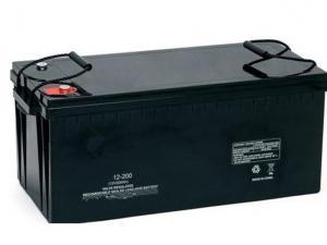 China High Rate Shock Proof VRLA AGM SMF 12V Lead Acid Battery 200ah For LED Lighting on sale