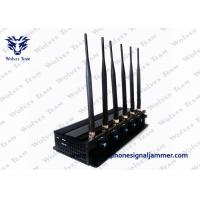 China 8 Bands Remote Control Jammer High Power GPS LoJack 3G Cell Phone Blocker on sale