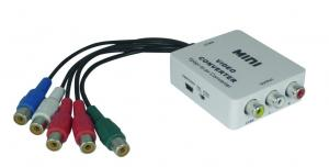 China Mini YPbPr to AV Converters Switch between NTSC and PAL on sale