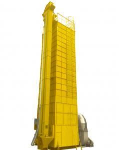 China 25 Ton Per Batch Grain Dryer / Maize Grain Dryer With Automatic Control Biomass Furnace on sale