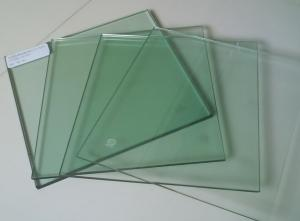 China High Strength Tempered Fire Resistant Glass / Fireproof Glass 19mm For Curtain Wall/120s on sale