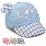 Baby Hat Baby Boy Caps Summer Hats For Boy Infant Sun Hat With Ear Beanies Accessories  color:blue