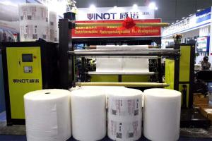 China High Production Three Layer Air Bubble Film Machine Protective Packing on sale