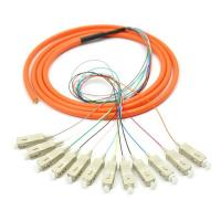 Singlemode ST LC optical fiber patch cord cables with CE / ROHS Approval