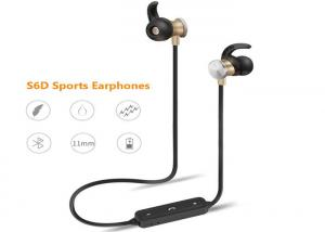 China S6D Bluetooth Earphones Wireless Stereo In-Ear Earbuds Handfree Sports Headsets Earpieces with Microphone for Smartphone on sale