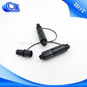 Conector de la fibra óptica de la prenda impermeable IP68