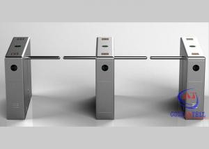 China Automatic RFID Drop Arm Turnstile Gate , Multi Access Control Barrier Arm Gates on sale