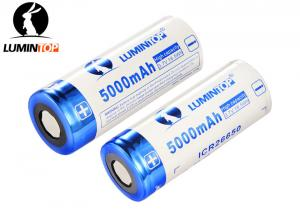 China Li Ion Rechargeable Flashlight Batteries 3.7V 5000mAh High Capacity supplier