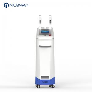 China Nubway Professional ipl shr elight laser hair removal machine for sale on sale