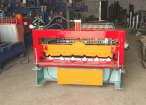 China 380V Metal Roof Forming MachineBuild - In Energy Saving Frequency Converter on sale