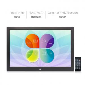 China Led Screen Large Digital Picture Frame 1280*800 Resolution JPEG/JPG Pic Format on sale