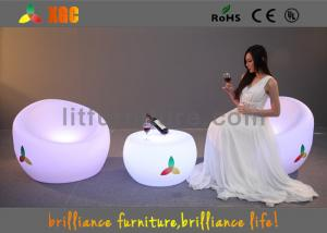 Quality 頑丈な LED のソファーの椅子、リモート・コントロール LED の照明家具 for sale