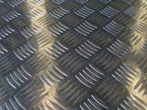 China Chequered aluminium plates on sale