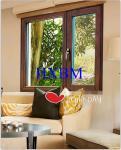 Oak Tilt Turn Wood Replacement Windows , Wooden Double Glazed Windows Customized