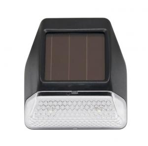 China Solar LED Stair Lights Motion Sensor , Solar Powered Step Lights Black Color on sale