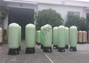 China Fiber Reinforce Plastic Water Tank With Up And Down Distributor on sale
