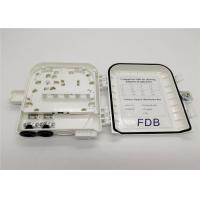 PC And ABS Fiber Optic Cable Termination Box 8 16 24 Cores Compact Structure