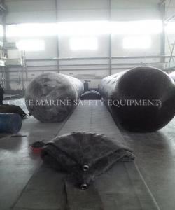 China Pneumatic rubber ship launching airbag / marine airbag for ship launching on sale