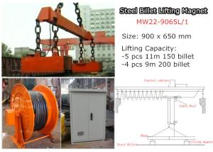 China Rectangular Lifting Magnet for Steel Billet Lifting MW22-9065L/1 on sale