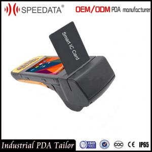 China Touch Screen Wireless Handheld Smart Card Reader for ID Card on sale