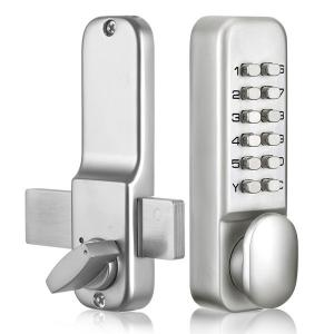 China Household / Commercial Mechanical Push Button Door Lock With Often Open Function on sale