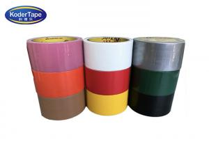 China Pe film Adhesive Non Reflective Single-Side Yellow Cloth Duct Tape Wholesale on sale