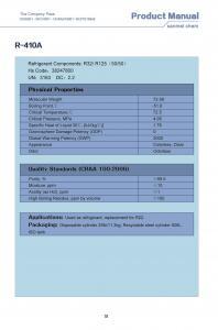 HFC zeotropic mixture refrigerant gas R410A for sale – HFC