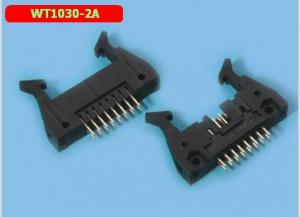 China Small Ear Pin Header Connector WT1030-2A 2.54 Mm Pitch Header Oem Service on sale