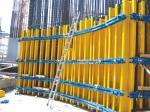 El bajo costo ajustable formó arcos encofrado concreto de la columna usado para cualquier pared curvada