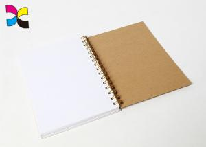 China Custom Spiral Bound Notebook Agenda Planner Printing Lamination Surface Finishing on sale