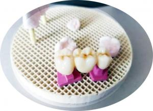 China factory price dental lab porcelain furnace used honeycomb firing tray with porcelain pins on sale