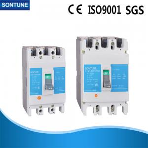 China Mini 4P Thermal Magnetic Molded Case Circuit Breaker With Electrical Generators on sale