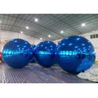 Inflatable Huge Bule Mirror Ball Advertising Inflatable Product Large Mirror Balloon