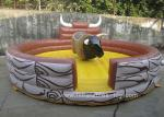 Commercial Inflatable Sports Games Children Mechanical Riding Bull