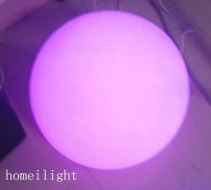 China Rechargeable RGB Colorful LED Round Ball Light Party Light for Party , Wedding on sale