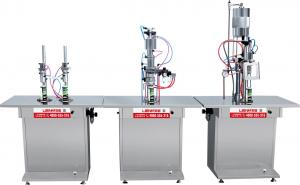 China LM-QWJ-A Guangzhou Semi-auto Aerosol Filling Machine Split Type on sale