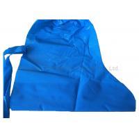 Laboratory Polythene Shoe Cover , Blue Color Non Slip Protective Shoe Covers