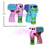 Outside Giant  Plastic Light Up Bubble Blaster For Wedding Truck Shaped