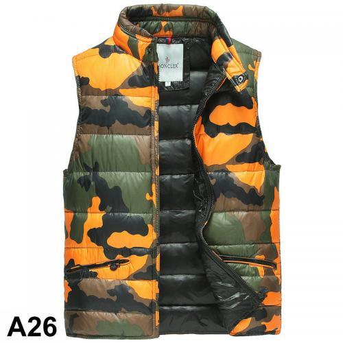 moncler camouflage weste