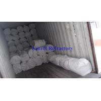 China Thermal Shock Resistance Refractory Ceramic Fiber Blanket For Fire Protection on sale