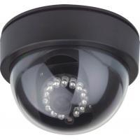 520TVL Black Dome CCTV Cameras With 3.6mm Board Lens , Plastic Housing