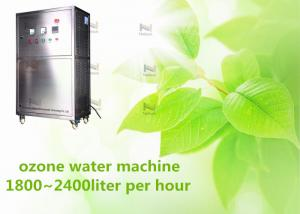 China 220V Industrial Ozone Generator 2 Tons Water Machine For Food Industries on sale