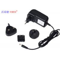 12V 2A Multi Plug AC Adapter , ABS Material Universal AC To 12v DC Power Supply