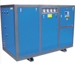 China R410A Stainless Steel Water Tank Water Cooled Chiller With Cooling Tower on sale