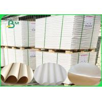 Non - toxic White And Brown Polythene Paper With Pure Wood Pulp 50 ~ 1000mm