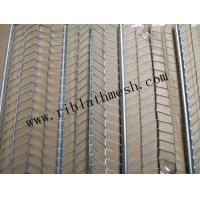 Construction Expanded High Rib Mesh 0.3mm Thickness Hot Dipped Galvanized Material