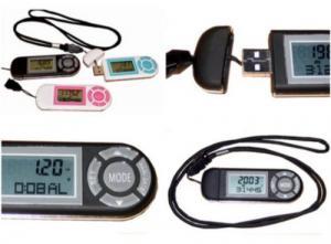 China 3d Digital Calorie  Pedometer on sale