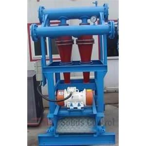 China LCS250 × 2 Drilling Mud Desander combination of ordinary desander and shale shaker on sale