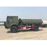 China Gasoline Transporting Oil Tank Truck / Petroleum Tanker Trucks 4X4 LHD SGS Approved on sale