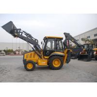 1.2 CBM Front Bucket Tractor Loader Backhoe , 4 In 1 Bucket Heavy Equipment Backhoe